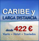 Ofertas de Vuelo + Hotel + Traslados a Baleares y Canarias, Capitales Europeas, Mediterraneo, Caribe y Larga distancia
